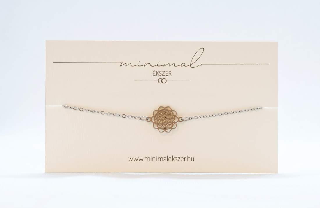 Mandala medálos karlánc